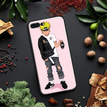 Naruto Fashion Trend Hipster Pattern coque Soft Silicone Phone Case Shell For Apple iPhone 5 5s Se 6 6s 7 8 Plus X XR XS MAX