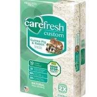 Carefresh Custom Guinea Pig & Rabbit Bedding White 23L