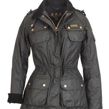 Barbour Winter fashion trend plus velvet down jacket
