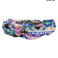 MULTI PRINT LOOPED HEADBAND