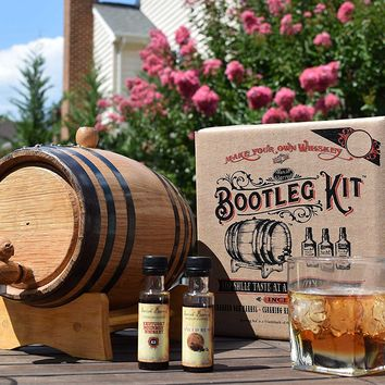 Bootleg Kit™ Barrel Aged Kentucky Bourbon Making Kit (1 Liter)