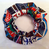 Star Wars Hair Scrunchie by StylishGeek on Etsy
