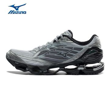 MIZUNO Men WAVE PROPHECY 6 Running Shoes Cushion Breathable Sports Shoes Sneakers J1GC