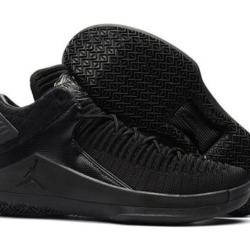 Air Jordan 32 Low All Black Basketball Shoe 40-46