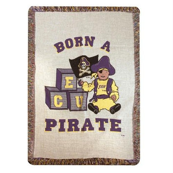 Throw Blanket - Ncaa Ecu Pirates