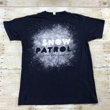 2008 Snow Patrol Taking Back The Cities Tour Concert Shirt Mens Size Large