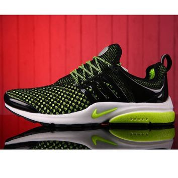 NIKE Men Fashion Running Sport Casual Shoes Sneakers Fluorescent green G-MDTY-SHINING