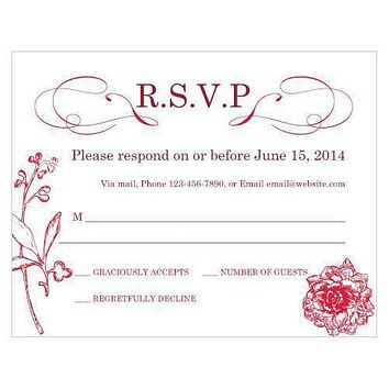 French Whimsy RSVP Vintage Pink (Pack of 1)
