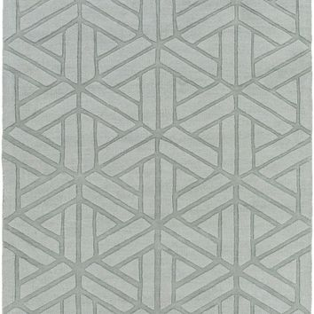 Mystique Solids and Tonals Area Rug Gray