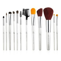 Professional Makeup Brush Set of 12 Brushes | e.l.f. Cosmetics