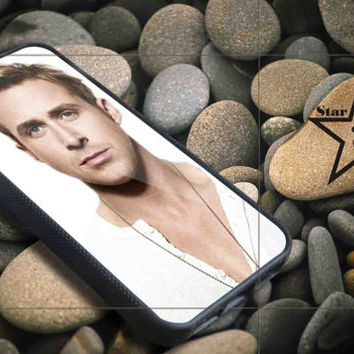 Eye Candy Ryan Gosling iPhone Case, iPhone 4/4S, 5/5S, 5c, Samsung S3, S4 Case, Hard Plastic and Rubber Case By Dsign Star 08