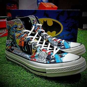 DC Comics x Converse Chuck Taylor 1970s Batman Shoes - Sale