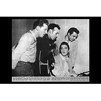 MILLION DOLLAR QUARTET POSTER Elvis Presley - Carl Perkins - Johnny Cash - Jerry Lee Lewis 24x36