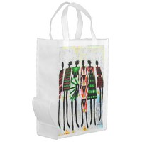 We are Sisters in Song Reusable Grocery Bag