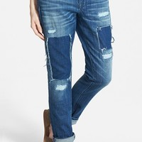 Women's Madewell 'Patched Up' Slim Boyfriend Jeans (Springfield Wash)