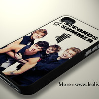 ash hood clifford luke 5sos White Phone Case Back Cover for iPhone, iPod and Samsung Galaxy | Lealiveus.com