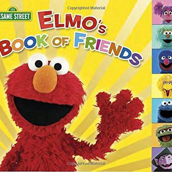 Elmo's Book of Friends Sesame Street Board Books BRDBK
