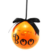 Halloween Boo Ball Ornament Halloween Ornament