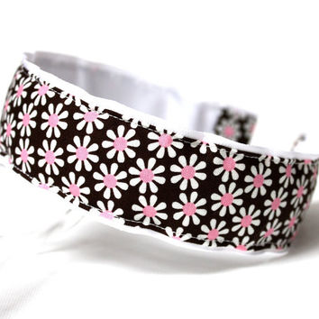 Preppy Headband - Michael Miller Fabric Headband by preppypieces