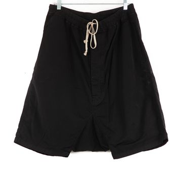 Rick Owens Cotton / Nylon Pod Shorts