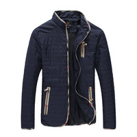 Luxury Men's Zip Puffer Jacket