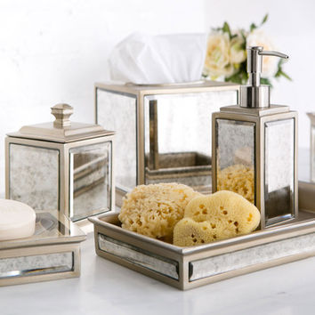 Birch Lane Distressed Glass Collection & Reviews | Wayfair