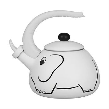 White Elephant Whistling Tea Kettle
