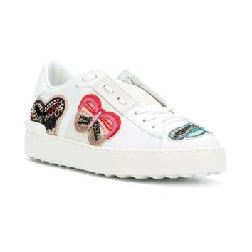 DCCKIN3 Valentino Embellished Butterfly Sneakers