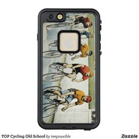 TOP Cycling Old School LifeProof® FRĒ® iPhone 6/6s Plus Case
