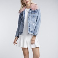 Pop Style Denim Jacket