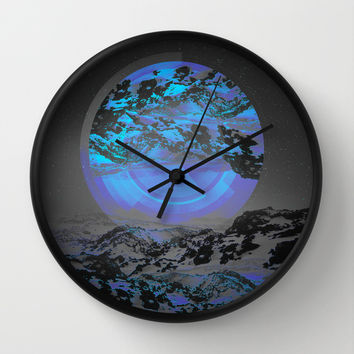 Neither Up Nor Down Wall Clock by Soaring Anchor Designs