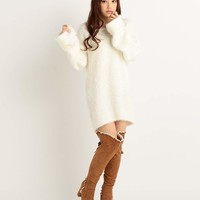 LIZ LISA Flare Sleeve Sweater Dress