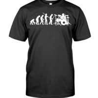 Evolution Of Drummer T-Shirt