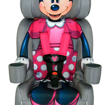Disney KidsEmbrace Combination Toddler Harness Booster Car Seat Minnie Mouse