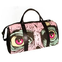 IRON FIST DANCE ON YOUR GRAVE DUFFLE BAG (PINK)