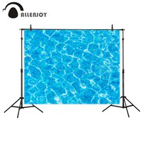 Allenjoy scenery photo backdrop Swimming pool summer water sunshine photocall vinyl photographic background foto background