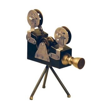 Olivier Camera Display Black & Gold