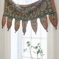 One-Of-A-Kind Mirrored Window Valance