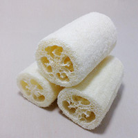 1 Pieces Natural Loofah Loofa Bath Shower Sponge Spa Body Scrubber Horniness Remover Bathing Massage Sponge Bath Scrub Cuozao