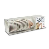 Fred & Friends PICK YOUR NOSE Nose Paper Cups, 24-Pack
