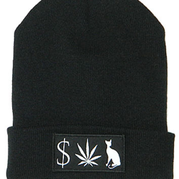 MONEY WEED PUSSY CAT BEANIE