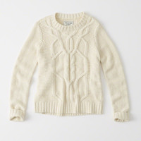 Womens Cable Knit Sweater | Womens Clearance | Abercrombie.com