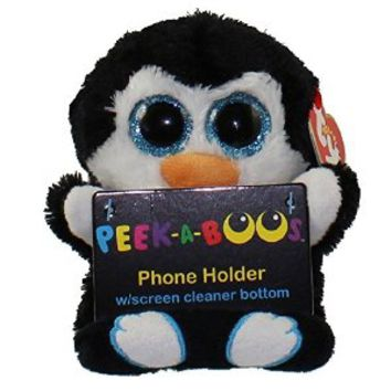 Ty Peek-A-Boo Phone Holder with Screen Cleaner Bottom, Penni