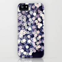 Little White Circles iPhone Case by Amelia Kay Photography | Society6