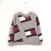 Tommy Jeans 90s Crew Sweatshirt Flag Print M8 Retro sweater