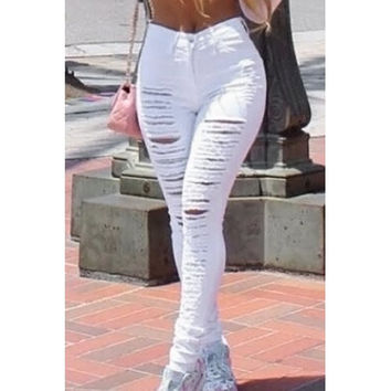 Street Style Slimming Jeans