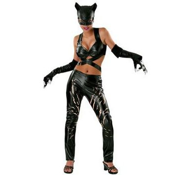 Catwoman Deluxe Adult Costume - Small
