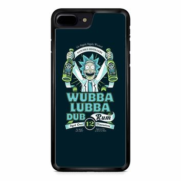 Rick And Morty Wubba Lubba iPhone 8 Plus Case