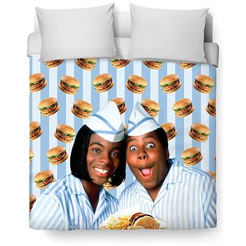 Good Burger Duvet Cover