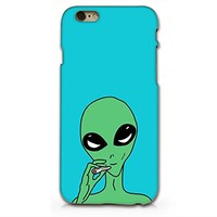 Alien Smoking Plastic Phone Case for iphone 6 _ SUPERTRAMPshop